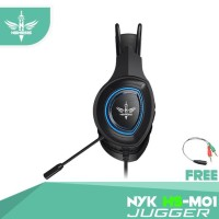 NYK Headset Mobile Gaming HS-M01 JUGGER f6