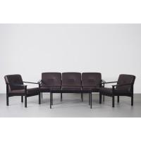 LILY DARK BROWN SCANDINAVIAN SOFA - Sofa Minimalis, Sofa Modern