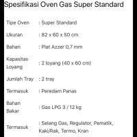 Oven Golden Star type Super Standard SALE