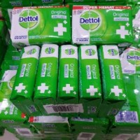 TERLENGKAP// Dettol sabun mandi batang soap 105g .