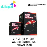 2.5kg 5000 Black Flexycoat Flexy Coat Waterponding Cat Kolam Koi