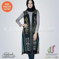 Long Vest Batik / Outer Etnik Handmade Clasik - BLAZ025