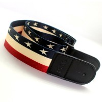 ☆FY☆Ethnic Style Printing Guitar Strap Adjustable Electric