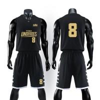 Terlaris Basketball suit mens college students match uniform