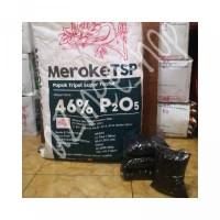 NEW PUPUK MEROKE TSP TRIPEL SUPER POSPAT PHOSPHAT FOSFAT REPACK