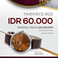 Jam tangan JT 8123 jims honey original battere box sertifikat Diskon