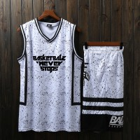 New Basketball suit mens custom made team uniform summer