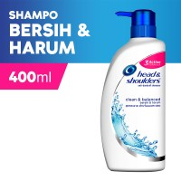 Head and Shoulder Shampoo Clean and Balance 400ml