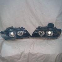 lampu depan headlamp bmw E46 2D seri3 02-06 facelift angel eyes DEPO