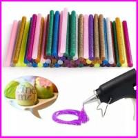 1 Pack Diy Lem Glue Stick Refill Glue Gun Glitter Warna Isi 12 Panjang