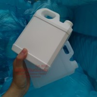 Jerigen 1 Liter Pendek Segel Putih
