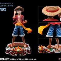 READY STOCK Monkey D Luffy Lifesize Statue Not Tsume Prime1