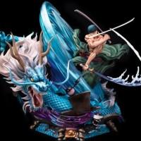 READY STOCK Zoro Roronoah Tornado Dragon Yu Statue Not Tsume Prime1