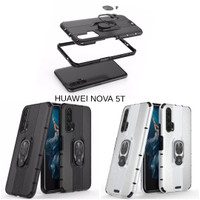 Casing Hardcase Iring Armor Huawei Nova 5T Hard Back Case