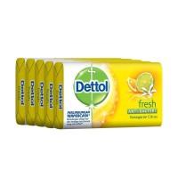 Sabun Mandi Dettol sabun Batang lemon kuning 105 gr bar soap per pcs