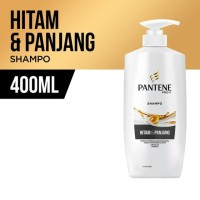 Pantene Shampoo Long Black 400ml