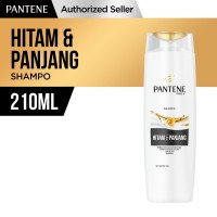 Pantene Shampoo Long Black 210ml