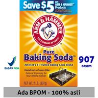 Baking Soda ASLI USA Merk Arm & Hammer Baking Soda 907Gr