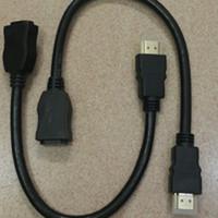 Kabel HDMI Extension Extender HDMI Perpanjang Male To Female 30cm
