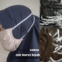 Masker Kain Tali Hijab Hijabers