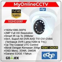Kamera CCTV Indoor Murah EDGE 2MP 4 In 1 AHD HDTVI HDCVI Analog CVBS