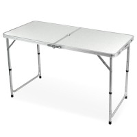 Promo !!!!!! Meja Lipat Kerja Serbaguna Alumunium Folding Table