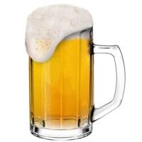 Borgonovo Brema Optic 360 Beer Glass Gelas Bir Kaca Made In Italy
