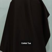 Celana High Twist Coklat Tua ( Halus dan Tebal )