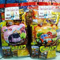 paket Snack dan kotak makan bingkisan anak ultah