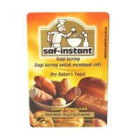 Saf Instant Ragi Kering Pengembang Kue Roti 1 box 5 x 11 gr