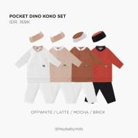 Hey Baby Pocket Dino Koko Set