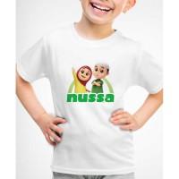 Kaos Baju anak Nusa dan Rara indosiar