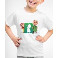 Kaos Baju anak Nusa dan Rara