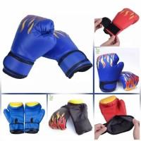 Sarung Tangan Tinju Anak Import - Boxing Gloves Karate Sanda Silat Dll