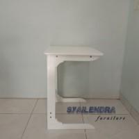 side table ,meja samping white duco