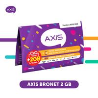 Starter Pack & Paket Axis Bronet 2 GB