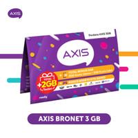 Starter Pack & Paket Axis Bronet 3 GB