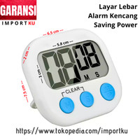 Digital Kitchen Timer / Alarm Masak Dapur / Stopwatch