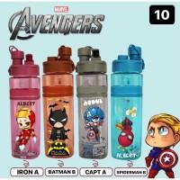 K10 Botol Minum Anak Custom Nama / Printing UV
