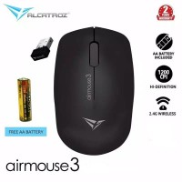 Alcatroz AirMouse 3 Wireless 2.4G Hi Definition Optical Mouse 1200CPI