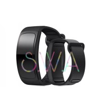 Samsung Galaxy Gear Fit 2 Pro Strap Silicone Connector Watch Band