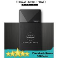 Remax RPP-54 Thoway 5000mAh Powerbank Slim Original