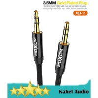 MOXOM AUX-11 Kabel Audio AUX 3.5mm Male to Male - 1 Meter