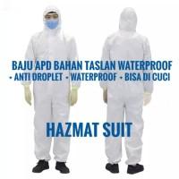 Baju APD Bahan POLYSTER TASLAN WATERPROOF