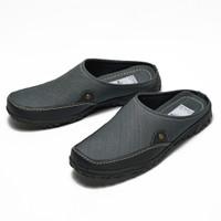 Sepatu Sandal Pria Cruz Denim Slip On Ori Sendal Slop Fordza BP907