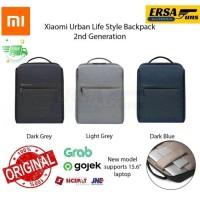 Xiaomi Bag Original Urban Lifestyle Backpack Tas Xiaomi Laptop Ransel - GEN 2 HITAM