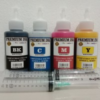 Tinta Isi Ulang / Refill Compatible For Epson L series ( Isi 100ml )