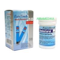 EasyTouch Cholesterol Alat Test Stik Strip Kolesterol Refill