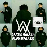 sweater jaket hodie anak alan walker ninja size S M L