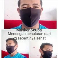 Masker Scuba Elastis Earlop